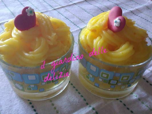 crema al limone, dolce al cucchiaio