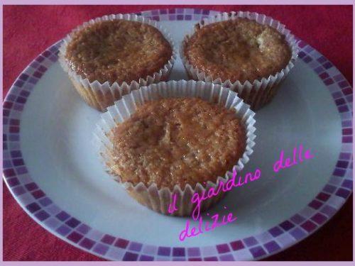 Muffin con farina di riso, alla ciliegia