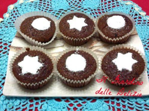 Muffin confettura sambuco con farina di riso