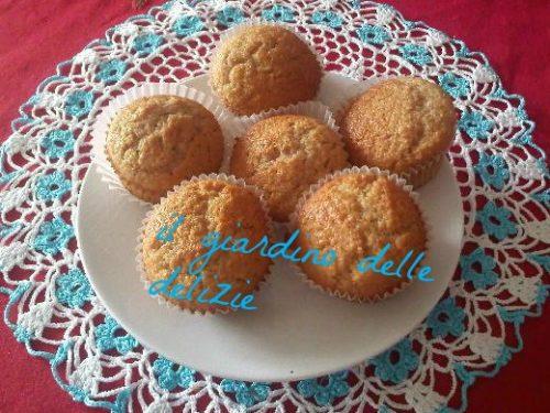 Muffin al cocco, con confettura