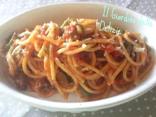 Gli spaghetti alla chitarra ai 4 pomodori - Sale&Pepe