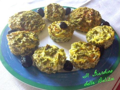 Sformatini di fagiolini, secondo verdura