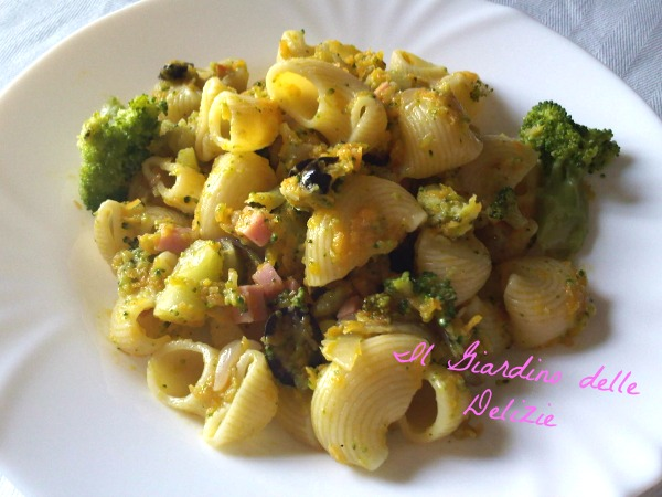 Pasta con carote e broccoli | IL GIARDINO delle DELIZIE