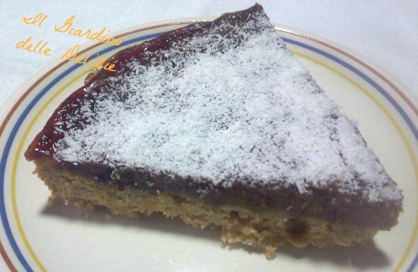 torta farina integrale e nocciole