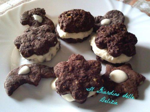 Biscotti al cioccolato e frutta secca