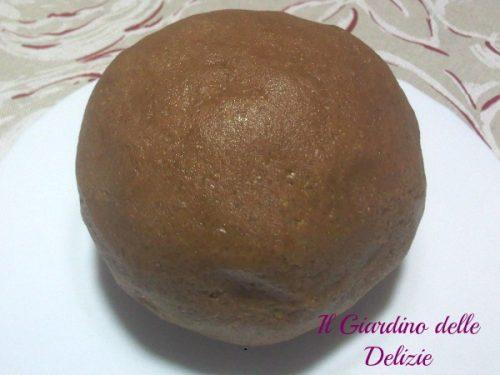 Frolla con farina integrale e nutella