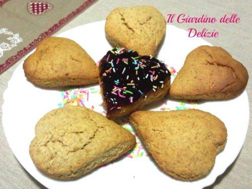 Biscotti al miele integrali
