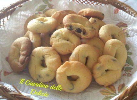 Biscotti Con Gocce Di Cioccolato Archives Il Giardino