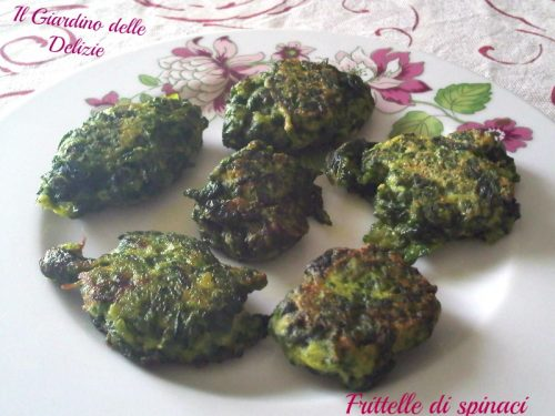 Frittelle di spinaci e ricotta