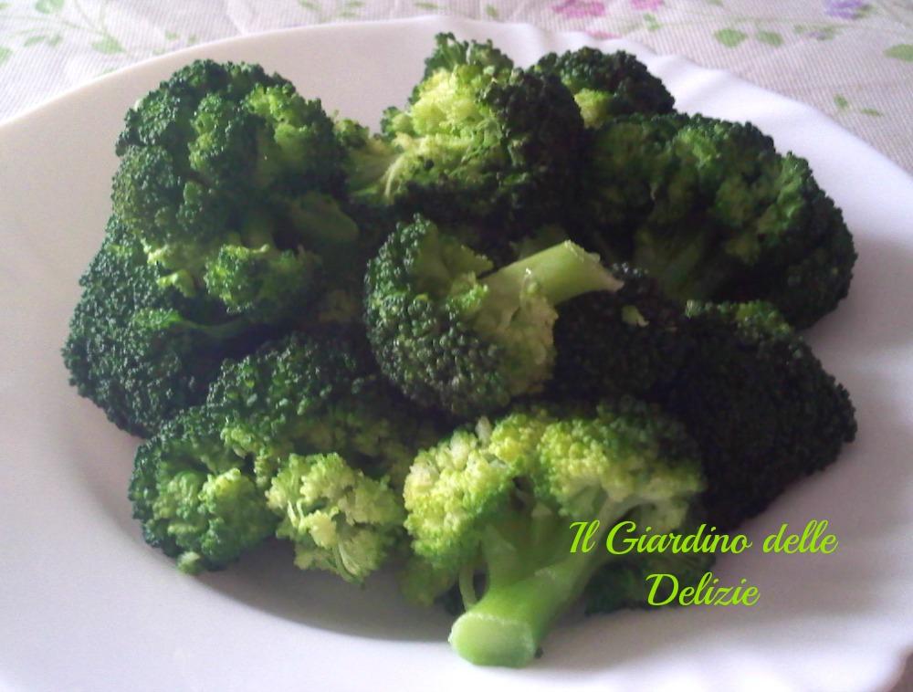 Broccoli Al Microonde Il Giardino Delle Delizie