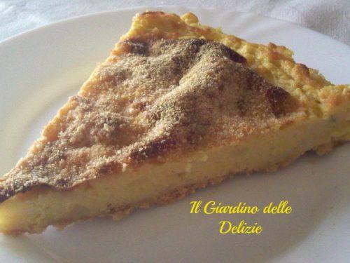 Torta gorgonzola e patate