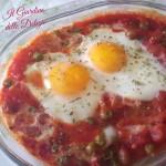 Uova al pomodoro al microonde