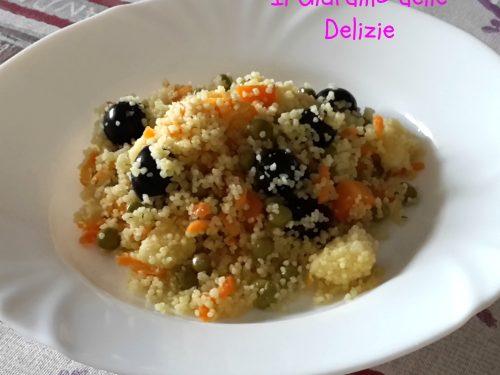 Couscous olive e piselli
