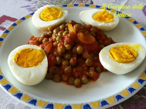 Uova e piselli