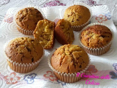 Muffin alla zucca deliziosi