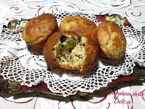 Muffin con riso soffiato