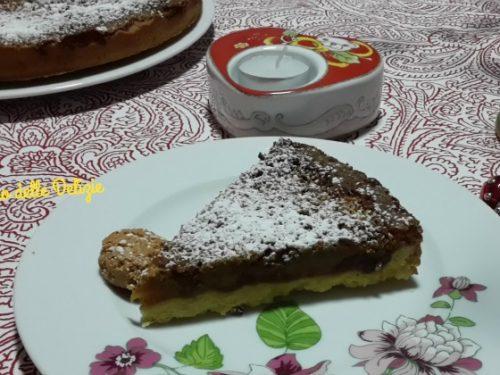 Torta Epifania con arancia ed amaretti