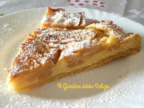Torta con mascarpone e mele