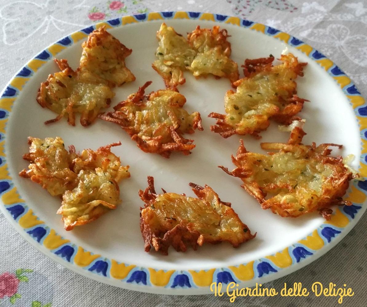 Patate in frittella croccanti