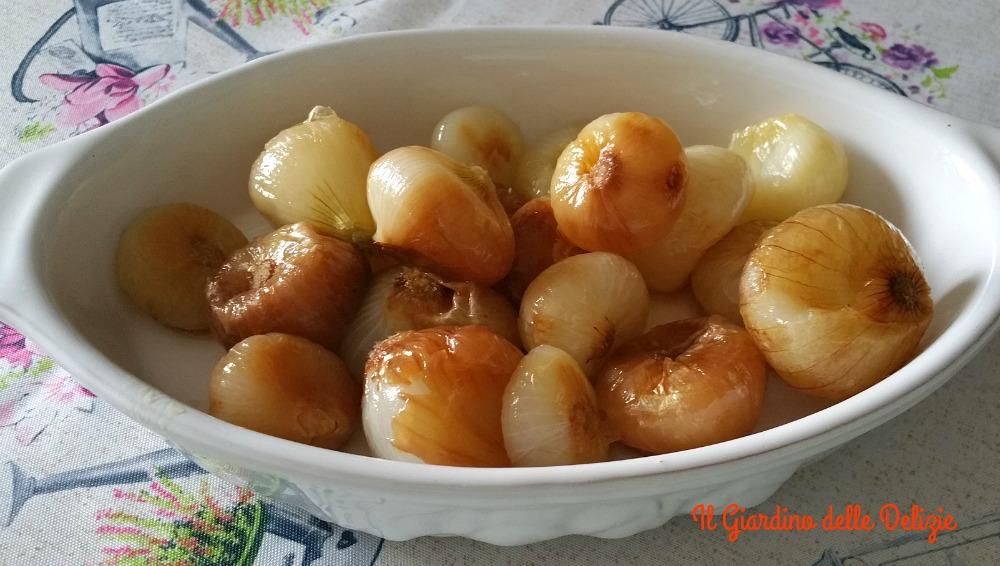 Cipolline all'aceto di mele al micro