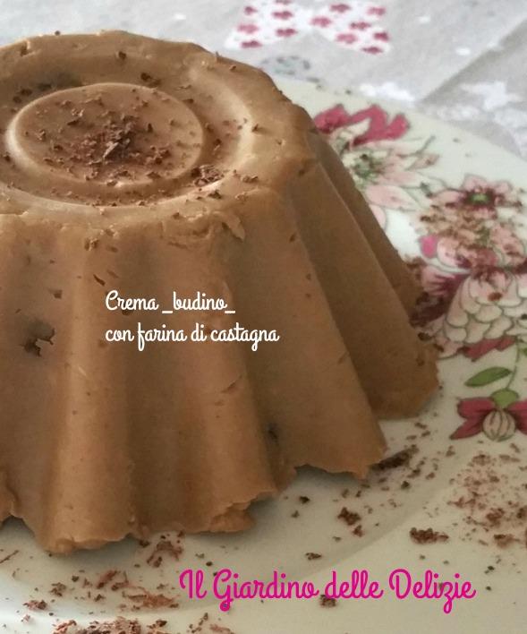 Crema con farina di castagne