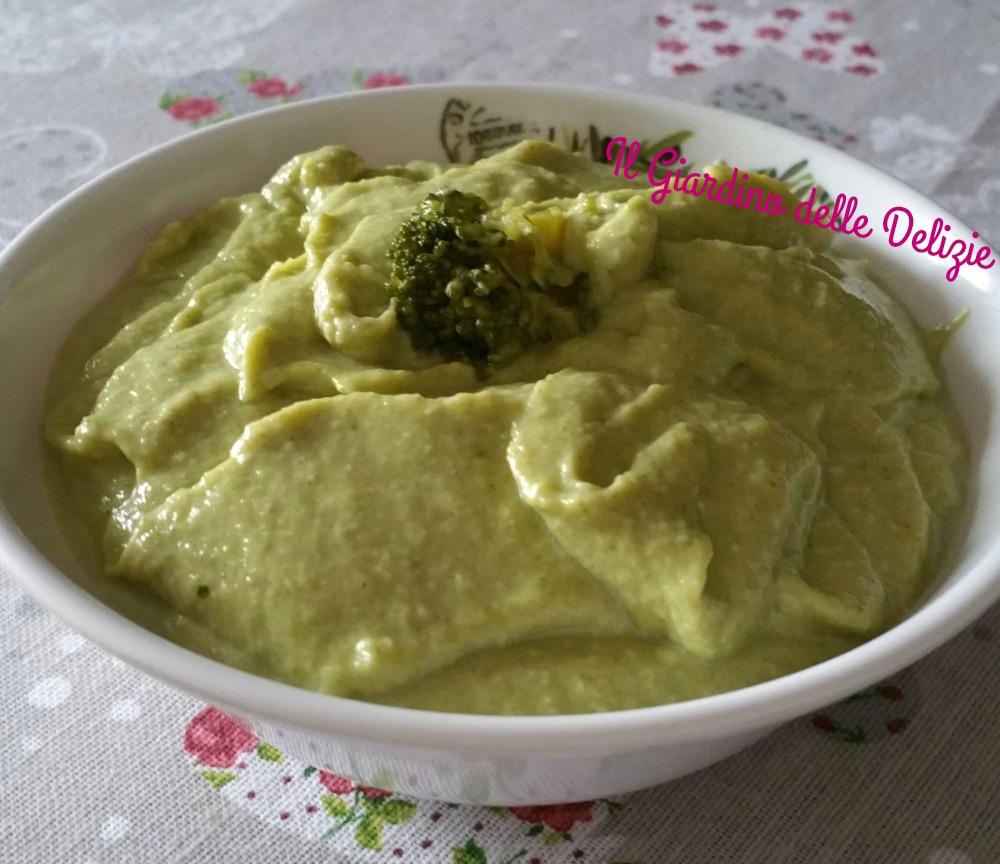 Crema di broccoli leggera