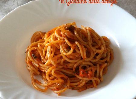 Spaghetti veloci alle erbe