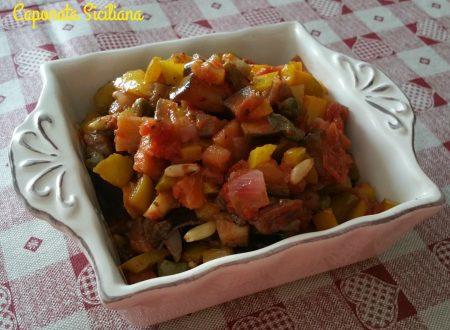Caponata di verdure al forno