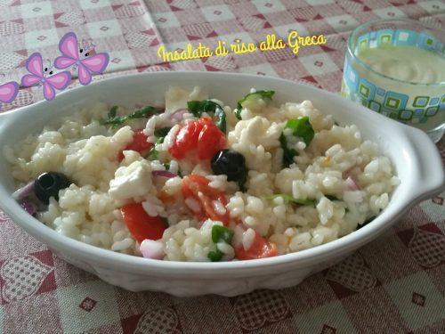 Insalata di riso alla Greca