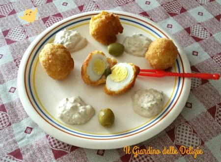 Uova di quaglia con crema di tonno
