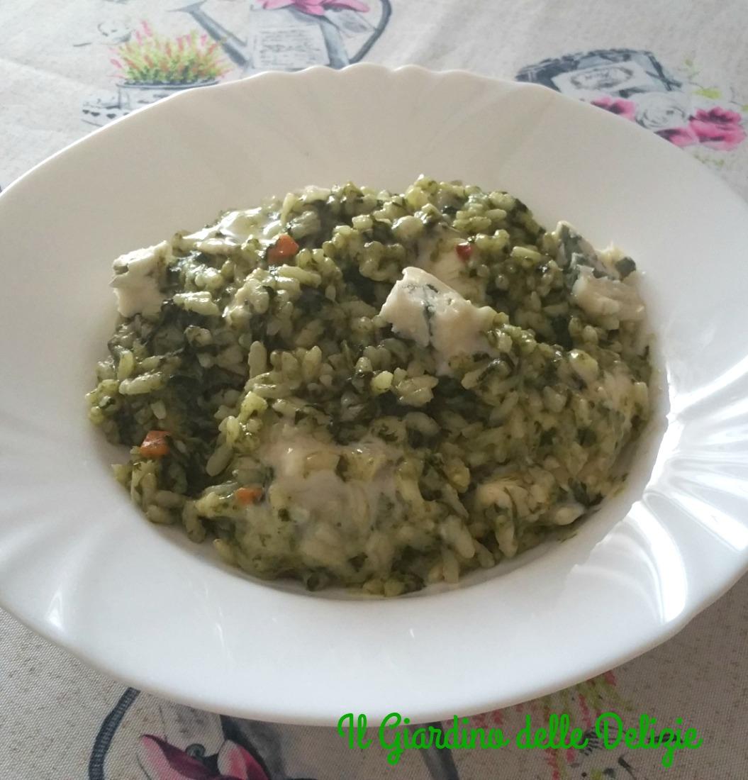 Risotto cremoso al gorgonzola