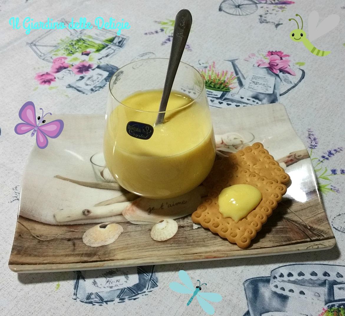 Crema per dolci, al microonde