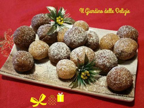 Dolci farina di noci cocco ed amaretti