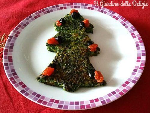 Frittata di spinaci semplice