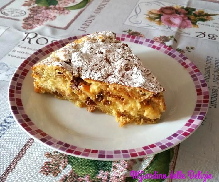 Torta torrone e panettone morbida