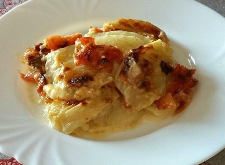Parmigiana di finocchi e pomodoro