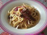 Spaghetti alle cipolle e pecorino