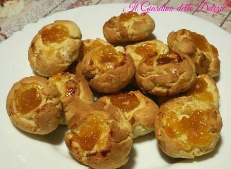 Biscotti confettura e formaggio philadelphia