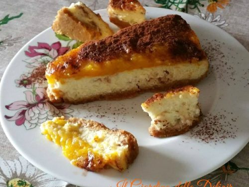 Cheesecake al philadelphia e torrone