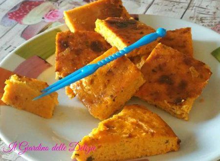 Antipasto di carote in frittata al forno