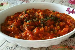 Sugo al pomodoro fresco e verdurine
