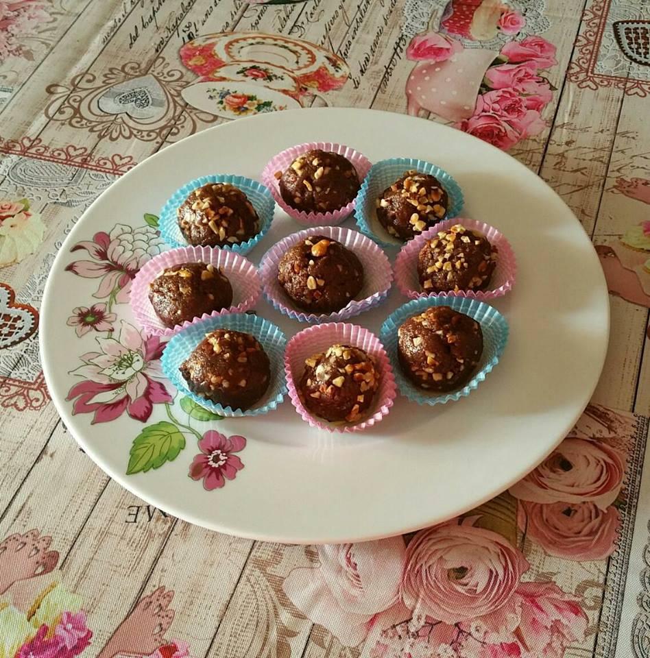 Dolcetti con biscotti integrali mascarpone e nutella