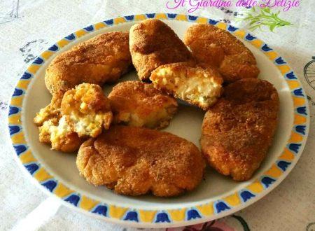 Crocchette con filetti di sogliola al forno