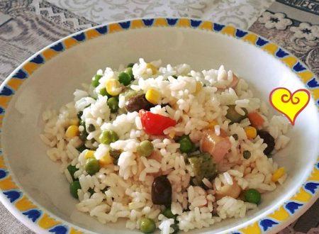 Insalata di riso estiva leggera