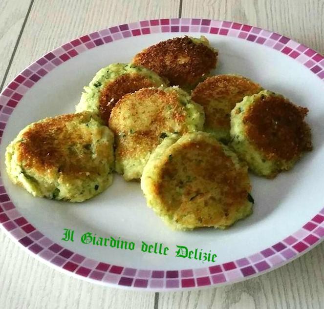 Polpette con zucchine frullate scamorza e senza uovo