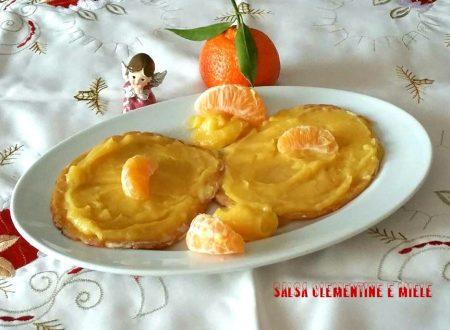 Salsa clementine e miele su arrosto di tacchina