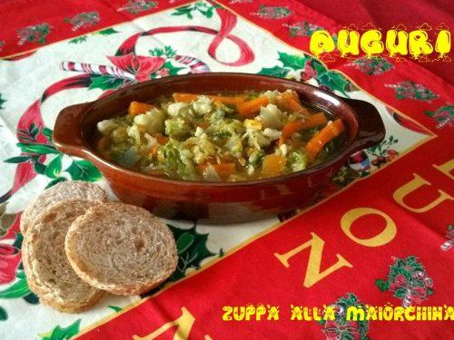 Zuppa alla Maiorchina ricetta di Natale