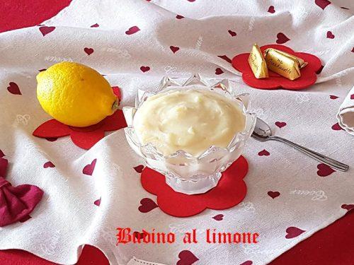 Budino al limone facile e veloce