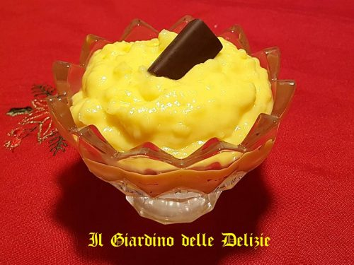 Crema con maizena al Marsala
