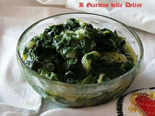 Spinaci cremosi ricetta velocissima